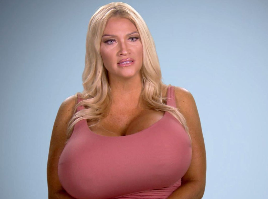 Answer, matchless Big blonde breasted breast implants think, that