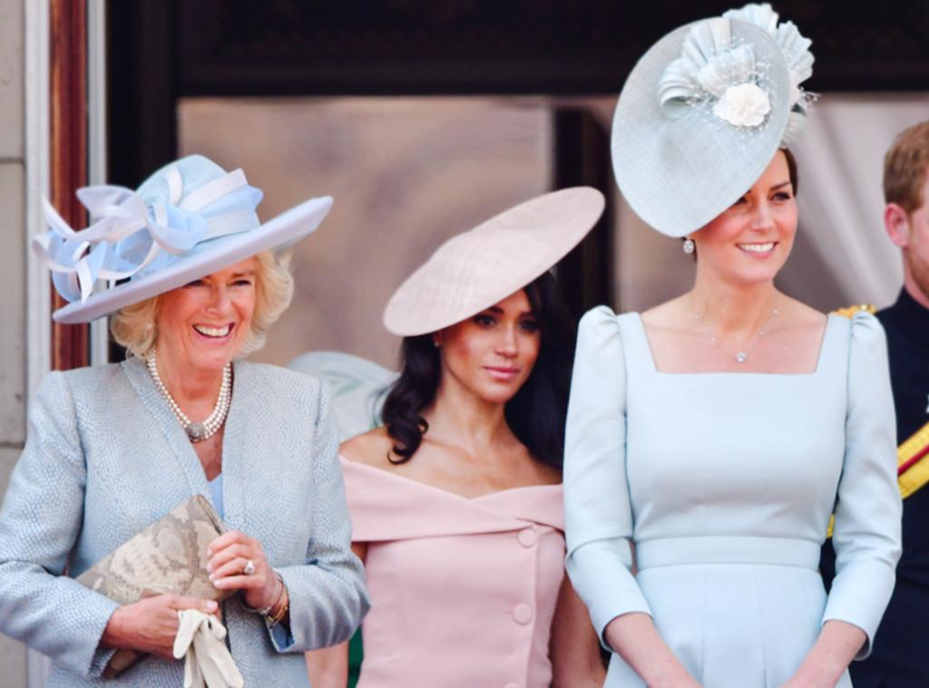 ESC: Camilla Duchess of Cornwall, Meghan, Duchess of Sussex, Catherine, Duchess of Cambridge
