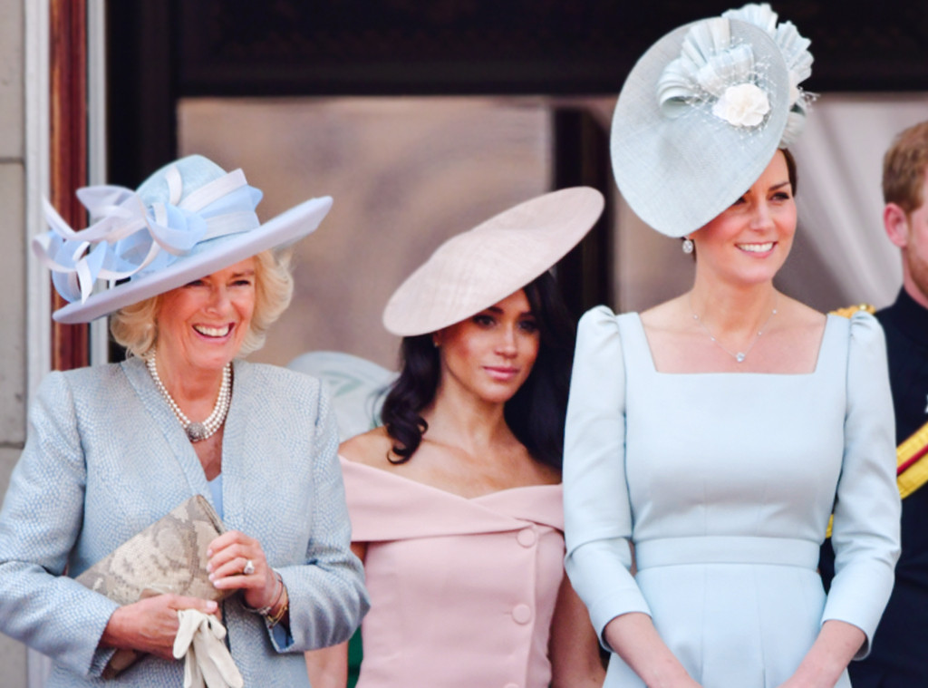 ESC: Camilla Duchess of Cornwall, Meghan, Duchess of Sussex, Catherine, Duchess of Cambridge