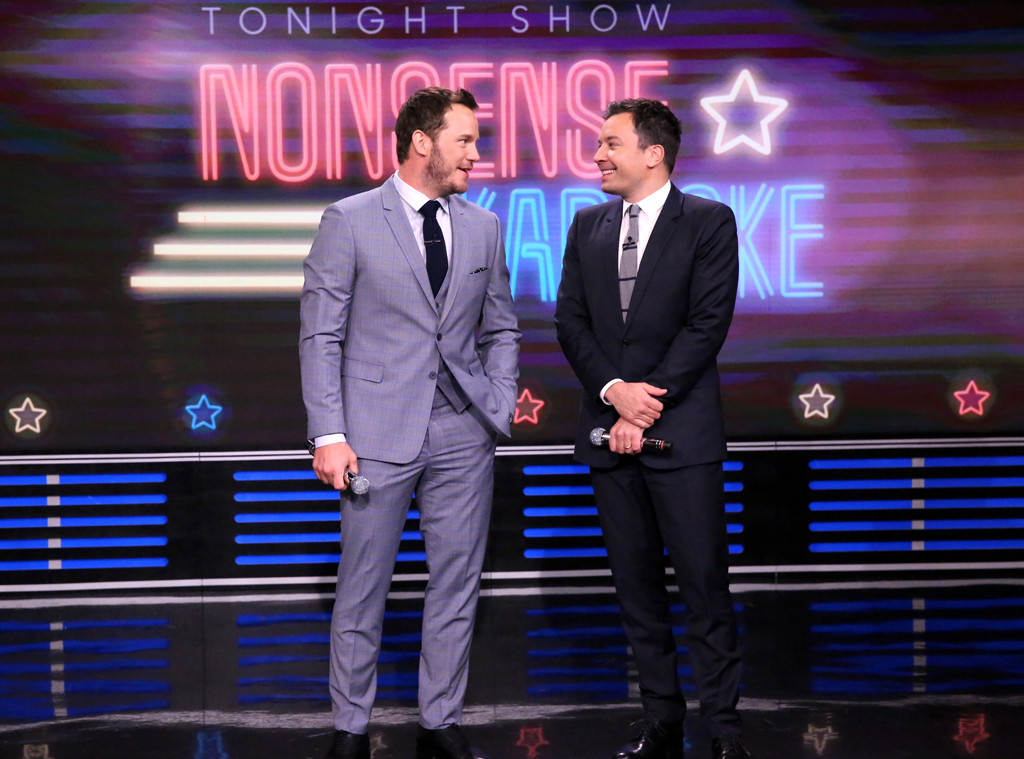 Jimmy Fallon, Chris Pratt