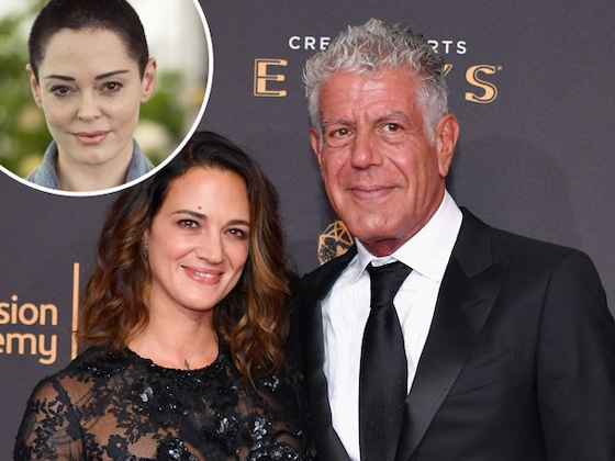 "Rose McGowan Says Anthony Bourdain and Asia Argento Had a ""Free Relationship"""