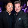 Nico Santos, Zeke Smith, GLAAD Media Awards