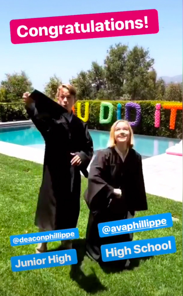 Reese Witherspoon, Ava Phillippe, Deacon Phillippe