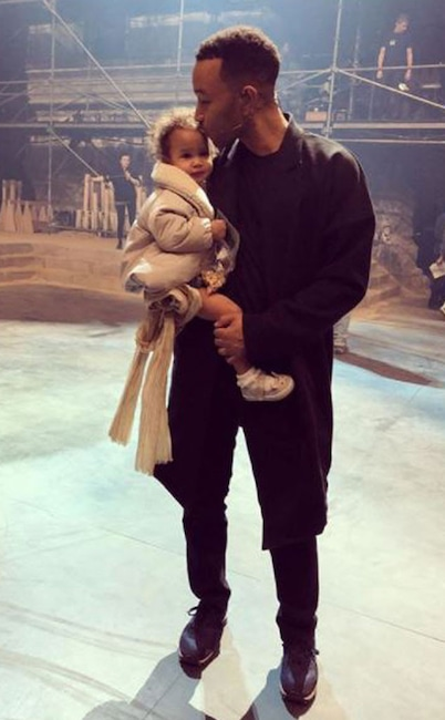 John Legend, Luna, Father, Daughter