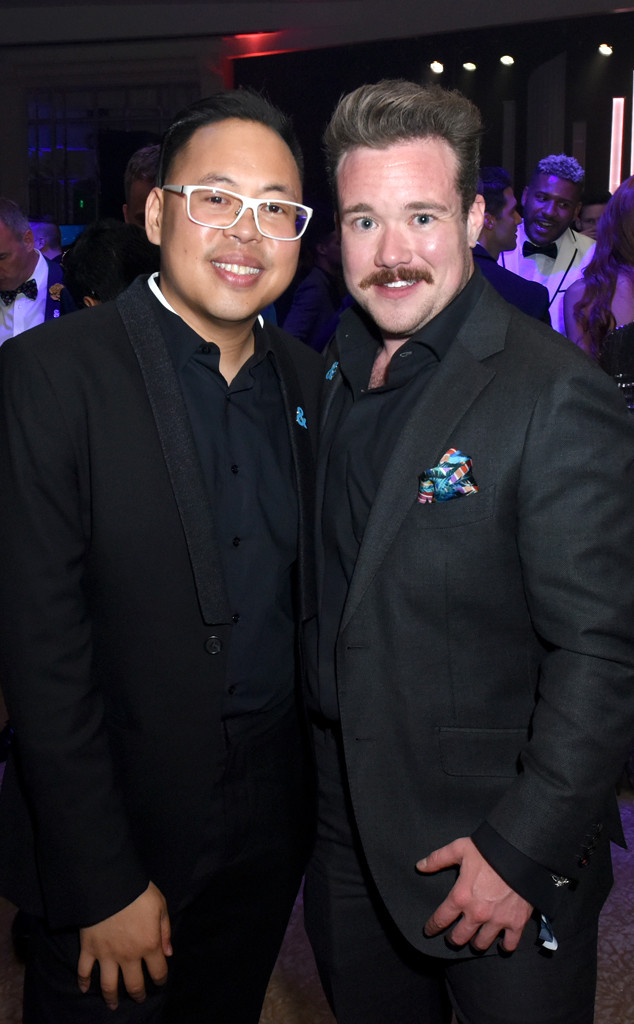 Nico Santos, Zeke Smith, GLAAD Media Awards