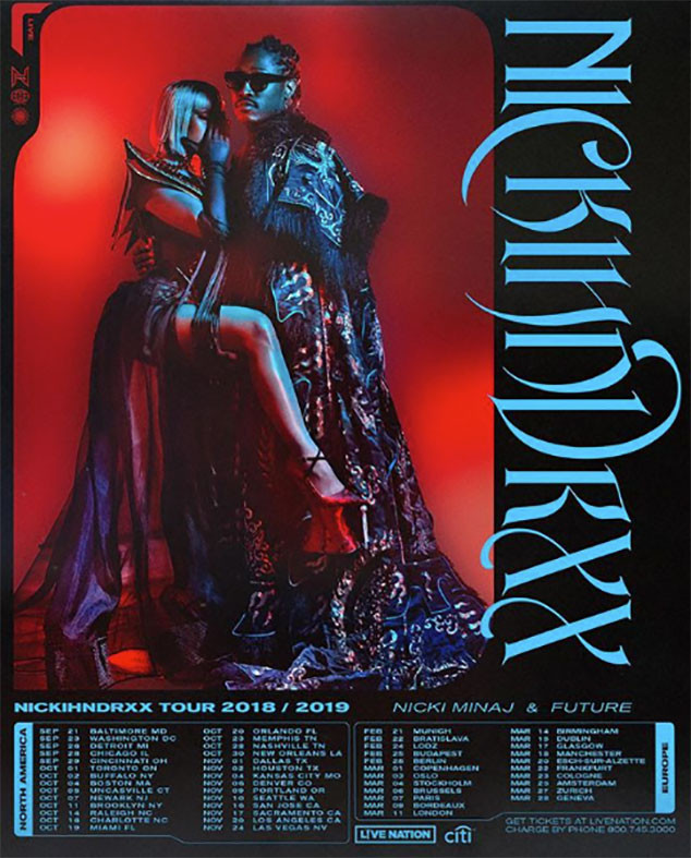 Nicki Minaj, Future, Tour