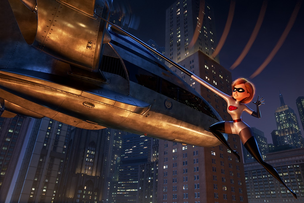11. Incredibles 2  (2018) -  Set moments after the first film, magnate Winston Deavor ( Bob Odenkirk ) hires Elastigirl ( Holly Hunter ) to make the public fall in love with superheroes once again.