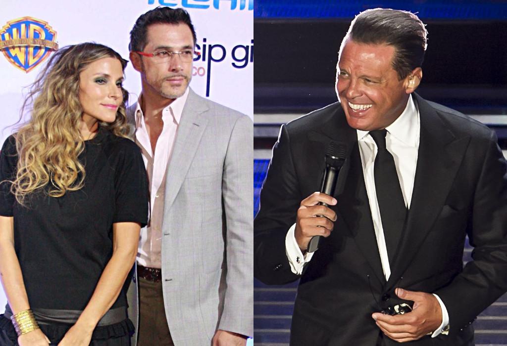 Sergio Mayer, Issabela Camil, Luis Miguel