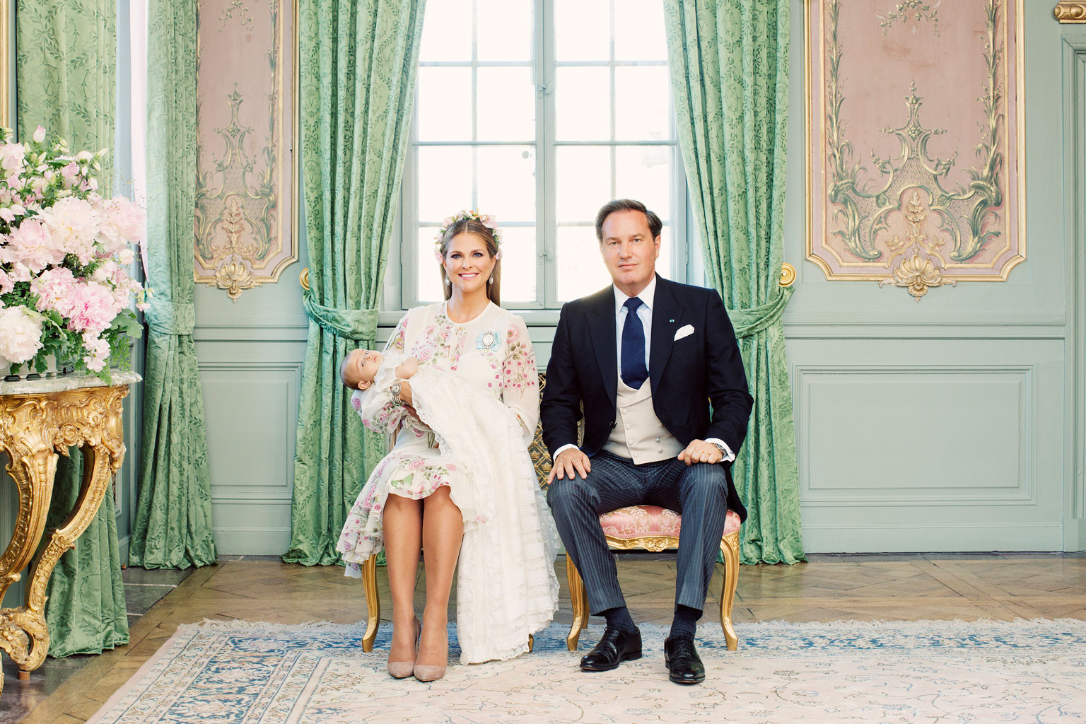 Princess Madeleine, Mr. Christopher O'Neill, Princess Adrienne