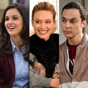 Melissa Fumero, Hilary Duff, Jim Parsons, Dan Levy, Best Comedy, TV Splits, Comedy Acting