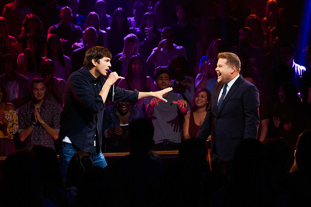 James Corden, Ashton Kutcher, Rap Battle, The Late Late Show