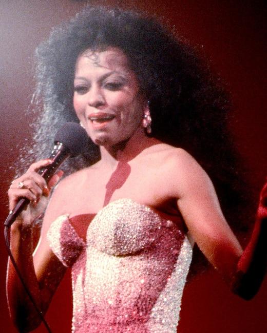 ESC: Diana Ross, Retro Hairstyles