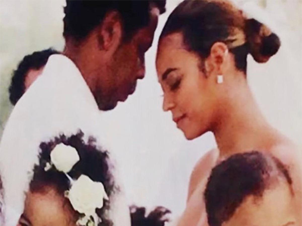 Beyoncé's Vow Renewal Dress Is Fit for a Queen