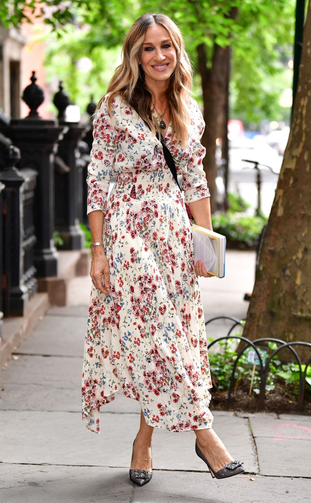 Sarah Jessica Parker -  Floral in the city!