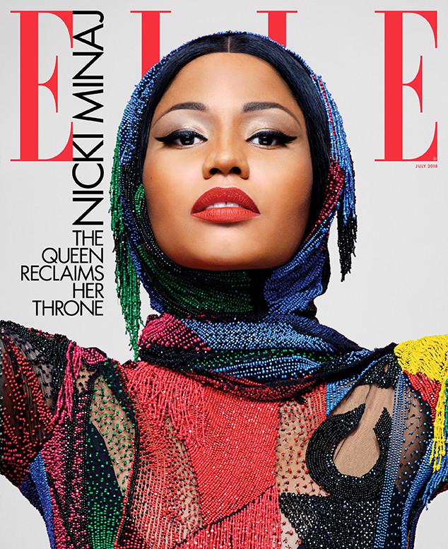 Nicki Minaj, ELLE, July 2018