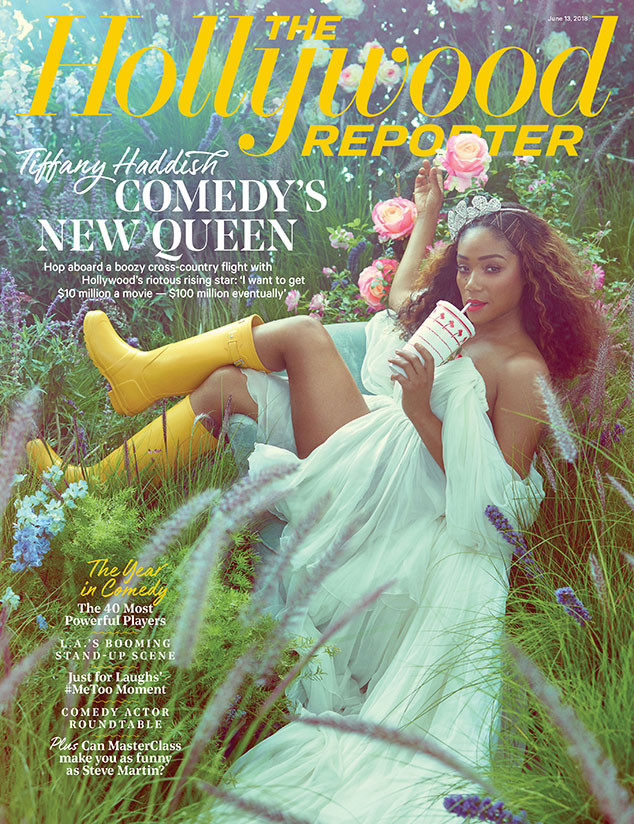 Tiffany Haddish, The Hollywood Reporter,