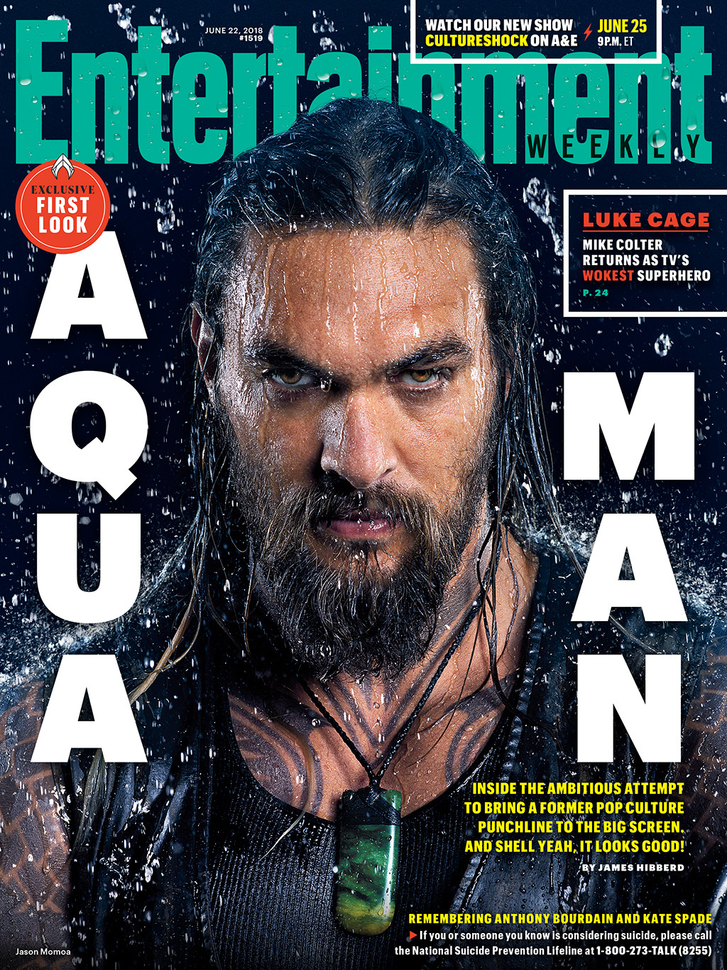 Aquaman, Entertainment Weekly
