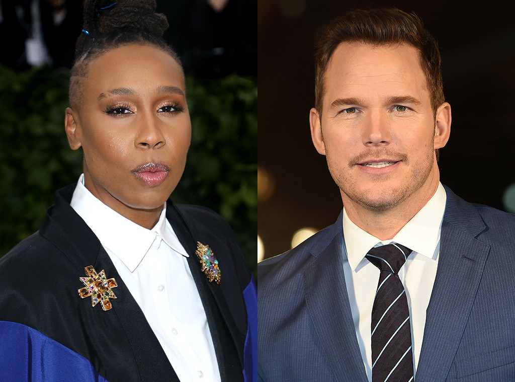 Chris Pratt, Lena Waithe