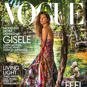 Gisele Bundchen, Tom Brady, Vivian, Daughter, Vogue, 73 Questions
