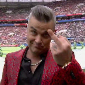 Robbie Williams, 2018 World Cup