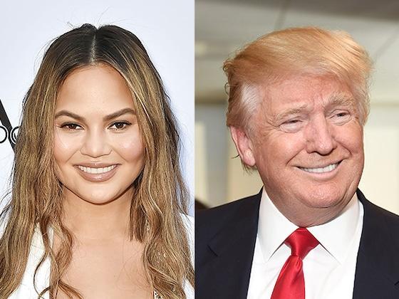 Chrissy Teigen's Family Donates $288,000 to ACLU on Donald Trump's Birthday