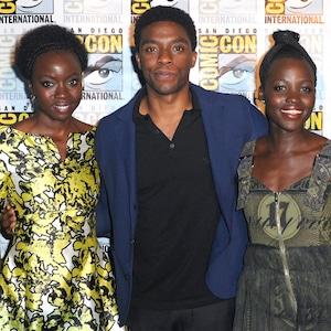 Black Panther, Ryan Coogler, Danai Gurira, Chadwick Boseman, Lupita Nyong'o, Michael B. Jordan