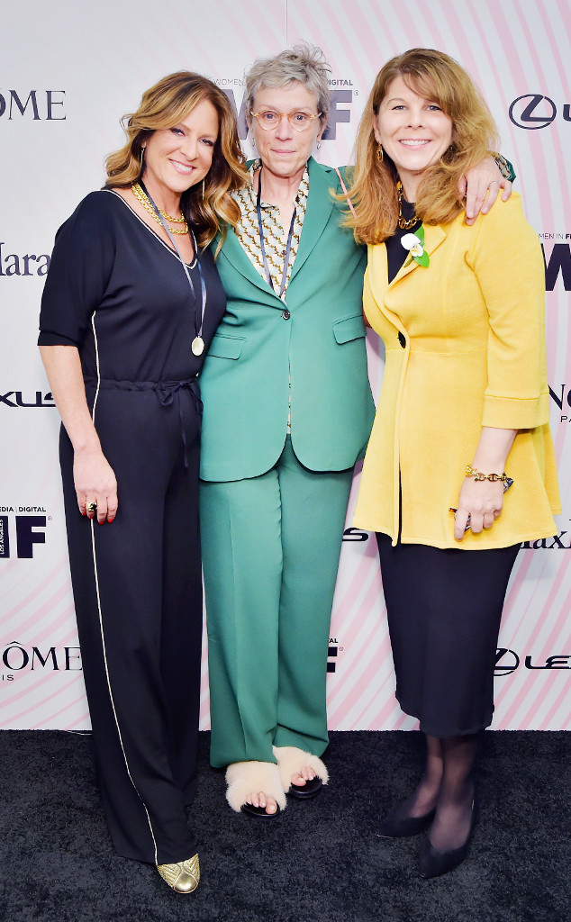 ESC: Cathy Schulman, Frances McDormand, Dr. Stacy L. Smith