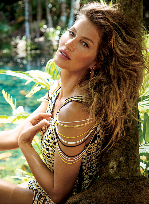 Gisele Bundchen, Vogue, July 2018