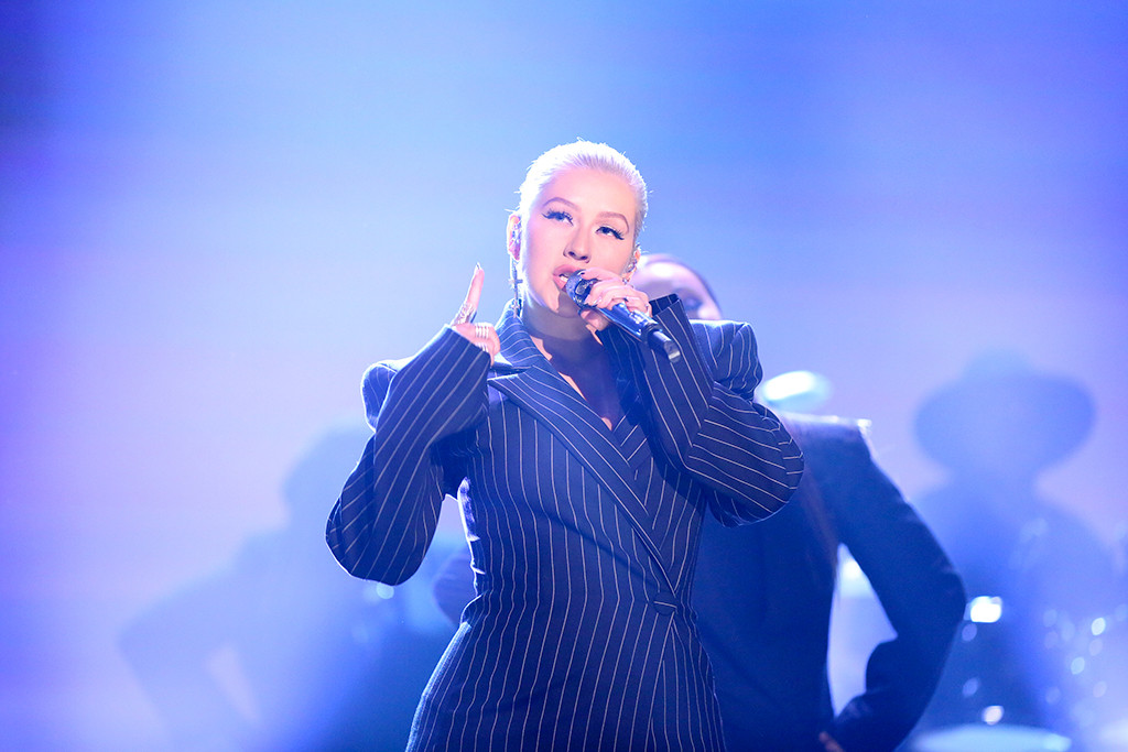Christina Aguilera, The Tonight Show Starring Jimmy Fallon