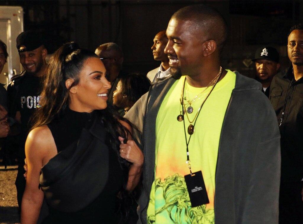 Siden da har Kim Kardashian og Kanye West vært dating