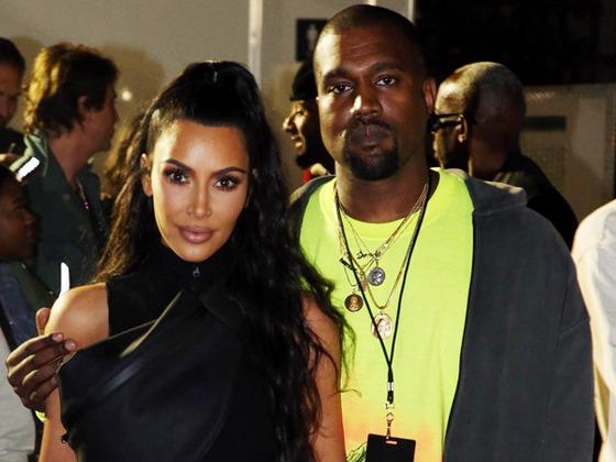 Kim Kardashian Supports Kanye West at Nas' Album Release Party