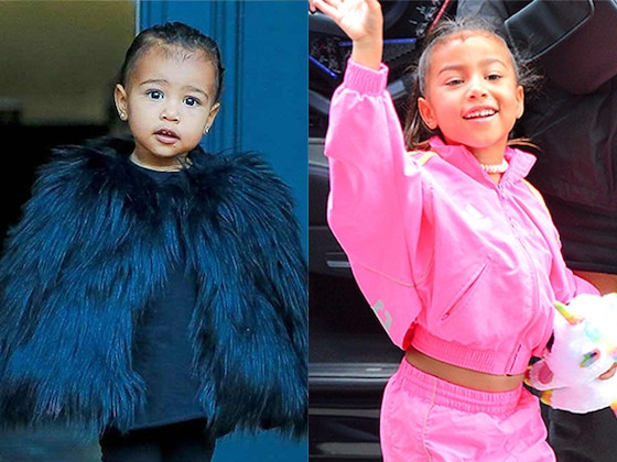 Happy Birthday, North West! See Her Style Evolution Over the Years
