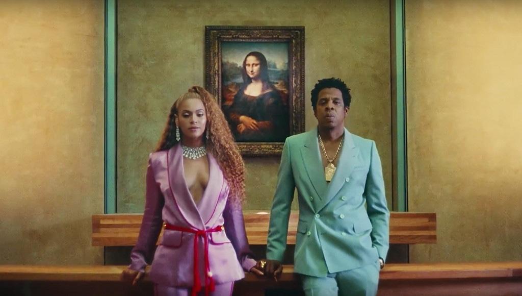 Beyonce, Jay Z, ApeS**t Video