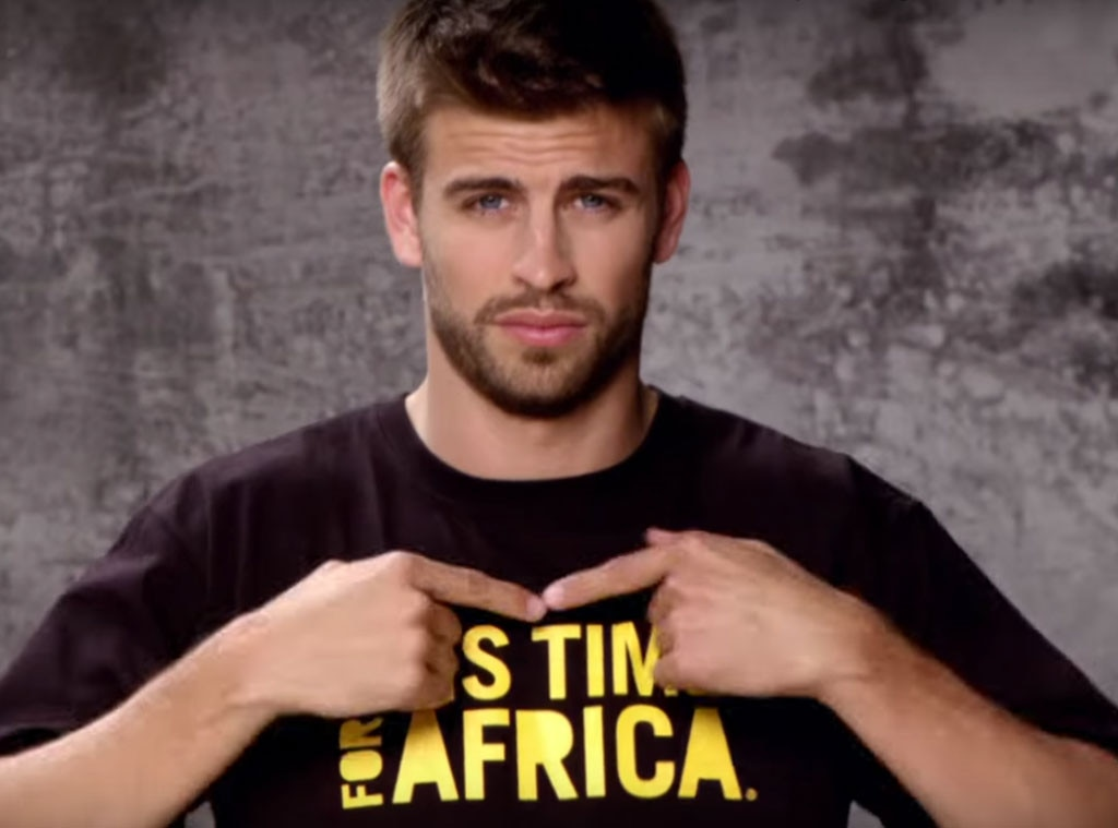 gerard piqué, waka waka music video