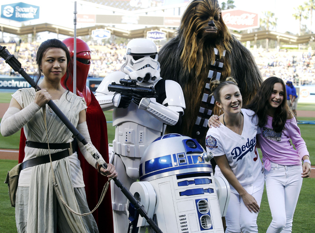 Billie Lourd, Star Wars Characters, Dodgers