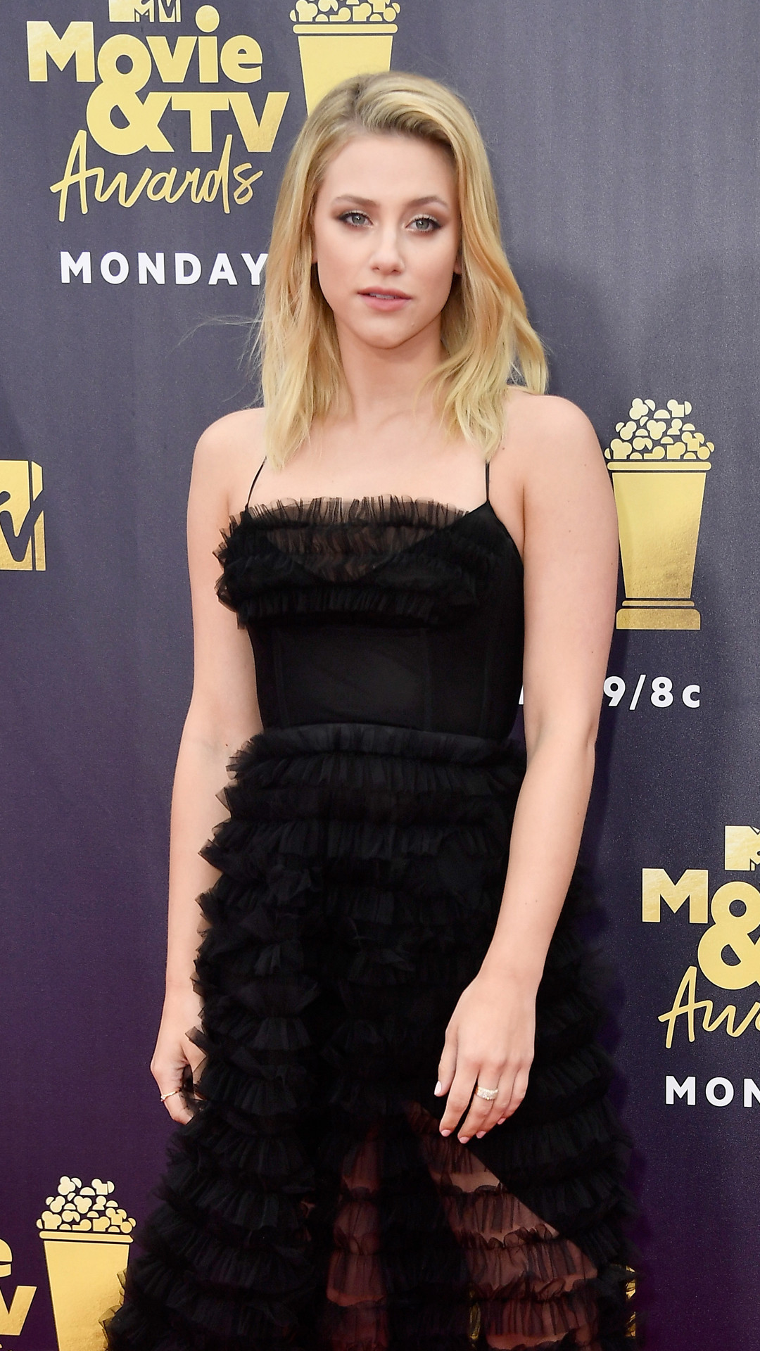 Lili Reinhart, 2018 MTV Movie & TV Awards, Arrivals