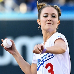Billie Lourd, Dodgers
