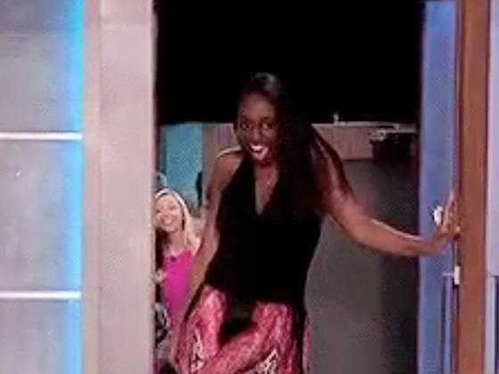 Julie Chen Recreates <i>Big Brother</i> Contestant Opening Door GIF Meme