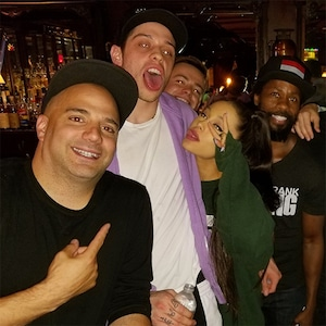 Ariana Grande, Pete Davidson, Sherrod Small, John Mayer, Comedy Cellar