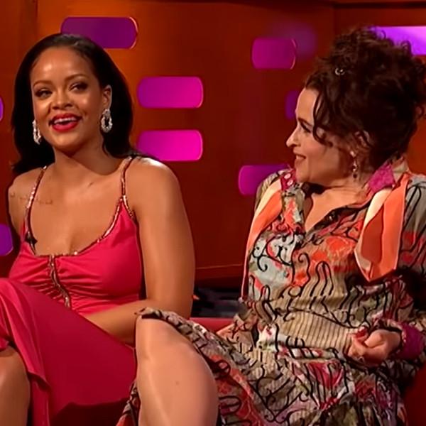 Rihanna, Helena Bonham Carter, Graham Norton Show