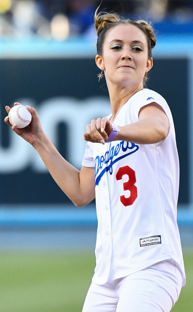 Billie Lourd, Dodgers