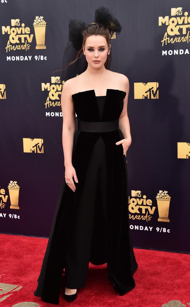 Katherine Langford, 2018 MTV Movie & TV Awards, Arrivals