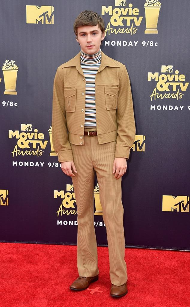 Miles Heizer, 2018 MTV Movie & TV Awards, Arrivals