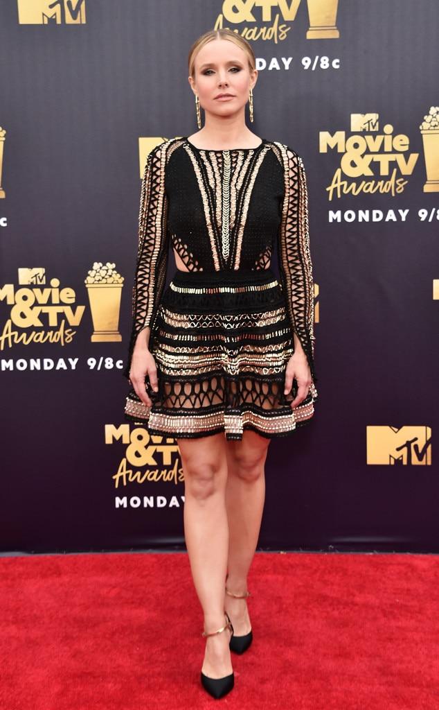 Kristen Bell, 2018 MTV Movie & TV Awards, Arrivals