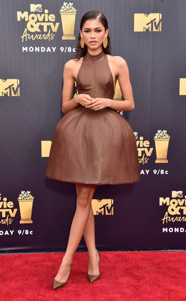 Zendaya, 2018 MTV Movie & TV Awards, Arrivals