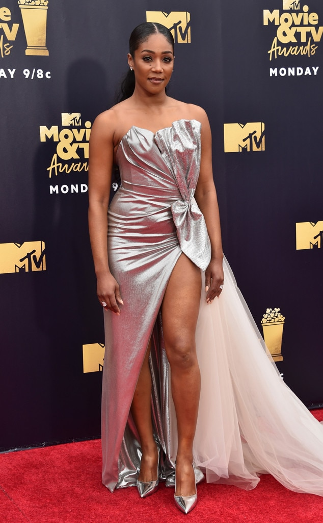 Tiffany Haddish, 2018 MTV Movie & TV Awards, Arrivals