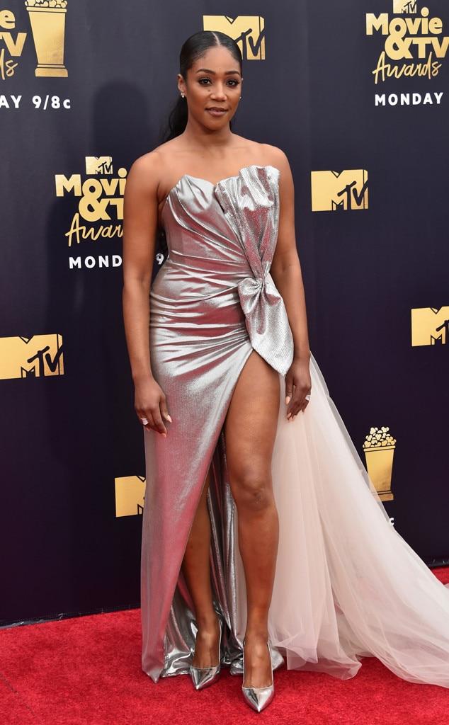 Tiffany Haddish, 2018 MTV Movie & TV Awards, Arrivals