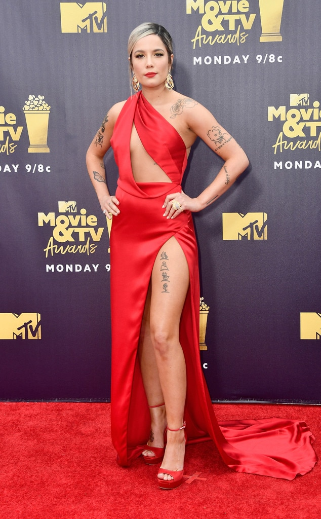 ESC: Halsey, 2018 MTV Movie & TV Awards, Arrivals