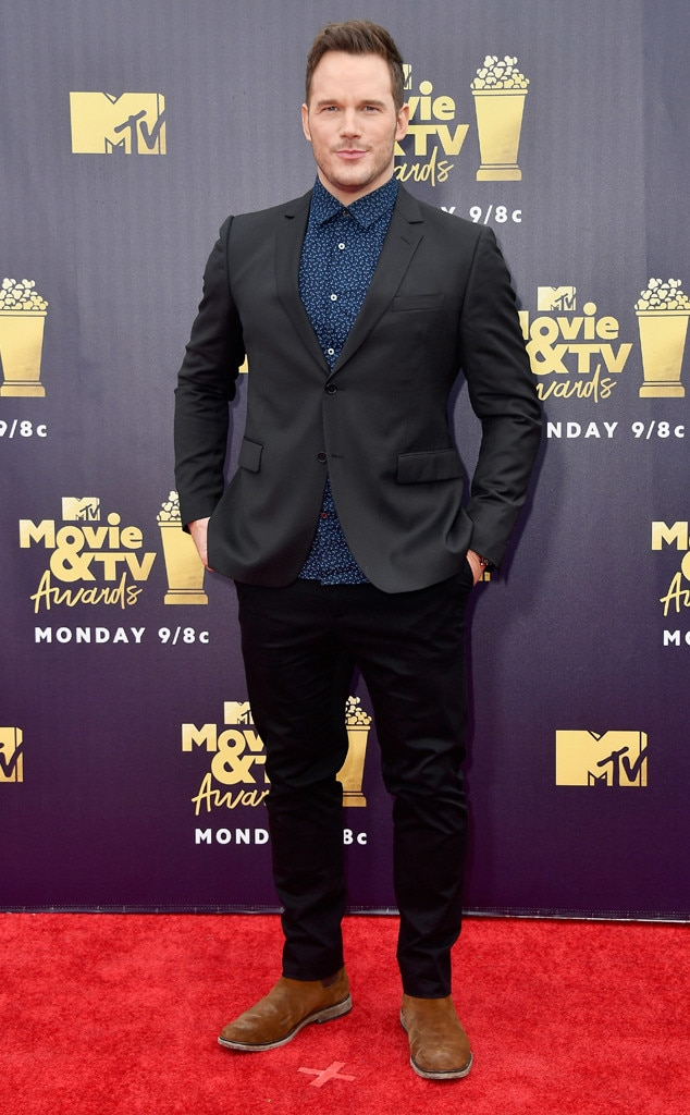Chris Pratt, 2018 MTV Movie & TV Awards, Arrivals