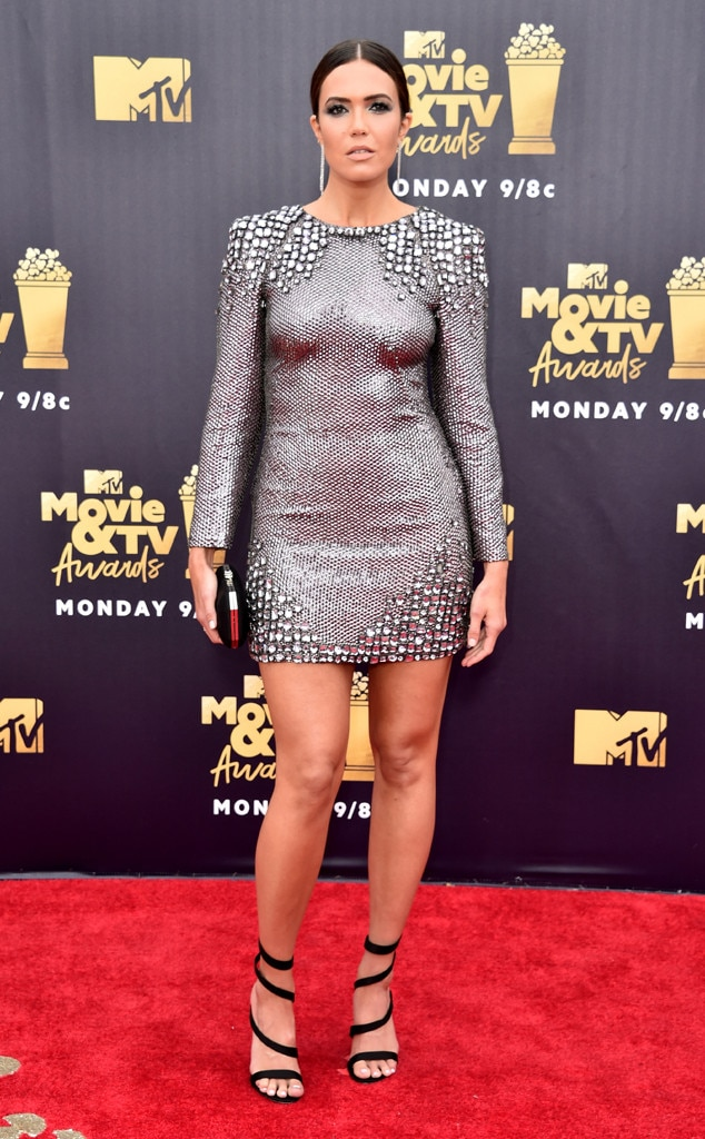Mandy Moore, 2018 MTV Movie & TV Awards, Arrivals